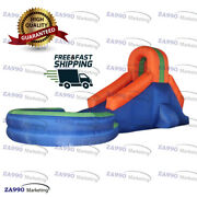 16x8.2ft Inflatable Slide And Pool For Home Use With Air Blower
