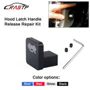 Hood Latch Handle Release Repair Kit Engine Cover Lock Control Switch For Honda