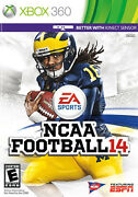 Ncaa Football 14 Xbox 360, 2013 Great Condition, Used Once