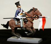 British 17th Lancers Uk 1854 Mounted Toy Soldier Collectible Model 54mm