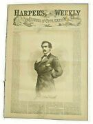 Original Authentic Harperand039s Weekly April 29 1865 Lincoln Assassination Issue