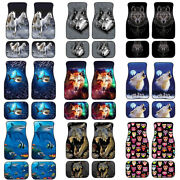 Cool Animal Design Car Floor Mat Universal Fit Most Car, Truck,suv Front And Rear
