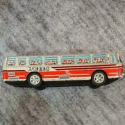 Ichiko Tinplate Japan Express Bus From Japan Antique Toy 42andtimes12andtimes13cm Showa Retro