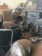 Headlight Bucket Bullet Antique Ford Chevy Dodge Rat Rod Air Cleaner Scoop