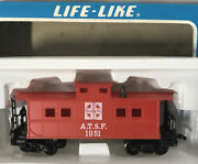 Life-like Ho Scale A.t.s.f. Atchison, Topeka And Santa Fe Caboose New In Box