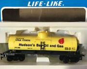 Life-like Ho Scale Hudson's Bay Oil And Gas Tank Car Utlx 77970 New In Box