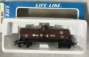 Vintage Life-like Ho Scale 8571 Mobil Gas Tank Car In Box