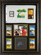 Tiger Woods 2008 Us Open Autographed Display