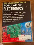 Lot Of 12 Popular Electronics Magazine Complete 1964 Year