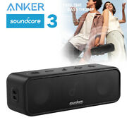 Anker Soundcore 3 Portable Bluetooth Speaker Partycast Stereo Bassup Waterproof