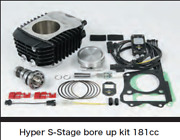 Takegawa Hyper S-stage Bore Up Kit Grom 181cc With Sports Camshaft Fi Con2 Jc61