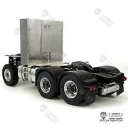 Lesu Metal Chassis Rc Truck For 1/14 Tamiya Benz 3363 56348 1851 Tractor Trailer