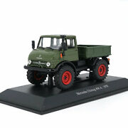 143 Unimog 406a 1970 Truck Lorry Model Diecast Gift Toy Vehicle Kids Collection