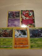 5 Pack Of Pokemon Above 100 Health. Each Pack Includes Atleast 1 Ex Mega Or...
