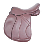 Jumping Leather Black Saddle Changeable Gullet Plastic Tree All Size