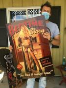 Pinup Girl Tractor Tire Farm Sign Motor Gasoline Oil Dealer Sign Nude Woman40