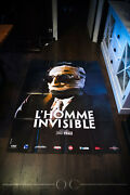 The Invisible Man James Whale 4x6 Ft French Grande Rerelease Movie Poster 2008