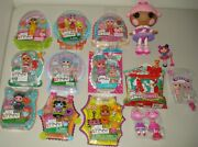 Lalaloopsy Mini Exclusive Ladybug Bunny Chick Doll Lot Easter Basket Egg Fillers