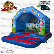 13x13ft Inflatable Paw Patrol Bouncy House Jumper Castle With Air Blower