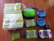 Leapfrog Lot 3 Devices Leappad, Leapster2 + 13 Games + Cases But No Charger