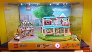 Lego Friends Lighted Store Display 41311heartlake And 41314 Stephanie's House 2017