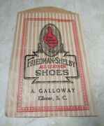 Vintage Red Goose Shoes Friedman-shelby All Leather A Galloway Paper Bag Elloree
