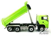 1/14 Rc Lesu 88 Hydraulic Man Painted Dumper Truck Metal Chassis Painted Model