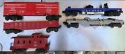 Lot Of 6 Lionel Postwar Rolling Stock 6470, 6462, 6257, 3419, 336155 And 392