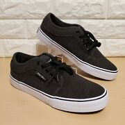Maui And Sonssurf Widemens Size 10black White Skate Skateboard Casual Shoes