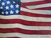 Us Flag Original Painting Oil On Canvas 18x 24 By Genevieve Bascetta