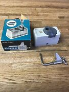 Vintage Eagle 17 Turquoise Lead Pointer Sharpener In Box