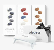 Ohora Nail Art / Nail Stickers 3 Sets With Uvgel Lamp-color Blossom K-beauty