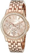 Brand Nee Relic Womenand039s Layla Rose Gold Watch