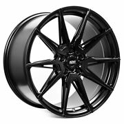 19 Adv1 Adv5.0 Black 19x9 Forged Concave Wheels Rims Fits Toyota Camry