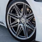 22 Adv1 Adv08 Silver 22x10.5 Forged Concave Wheels Rims Fits Land Range Rover
