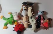 Beanie Baby Babies Lot Huge Collection Plus More Stuffed Toys
