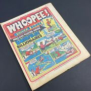 Vintage 19th April 1975 Whoopee Classic Kids Comic Book Paper Magazine