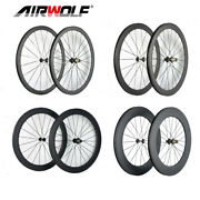 38/50/60/80mm Carbon Road Bike Wheel 3k 25mm Clincher Road Carbon Bicycle Wheels