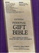Catholic Personal Gift Bible New American With Revised New Testament 9033bg
