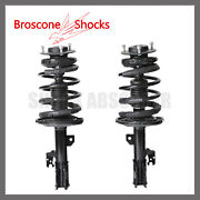 Front Pair Complete Strut W/spring For 2007 2008 2009 2010 2011 Toyota Camry