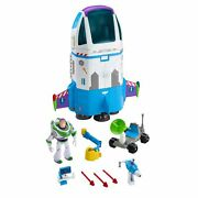 Disney Pixar Toy Story Buzz Lightyear Space Command Playset Multicolor