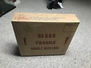 """Sealed Box Of 5 Wildlife Series Old Milwaukee Beer Mirrors """"the Timber Wolves"""""""
