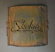 Skelly Gas Oil Sign Stencil Genuine Skelgas Natural Gas Beyond City Mains Rare