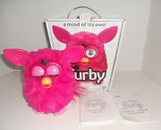Hasbro All Hot Pink 2012 Furby Htf Working, Boxed W/instructions