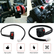 22mm Motorcycle Handlebar Switch Low/high Beam Horn Turn Signal Headlight On-off