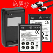 6270mah Nfc Chip Battery Desktop Charger Data Cable For Samsung Galaxy S4 I9500