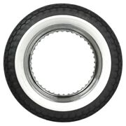 450-18 Beck 2 Whitewall Motorcycle Tire 110/90-18+120/90-18+130/90 Equiv