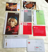 1968 Iberia Airlines Packet With Postcards, Do Not Disturb, Stationary, Etc