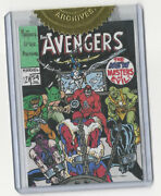 Marvel The Avengers Silver Age Cover Recreation Sketch Card Warren Martineck 54