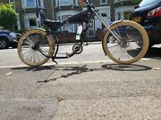 Custom Chopper Bicycle Nirve Chocolate Normal Size Condition Is Goodandnbsp